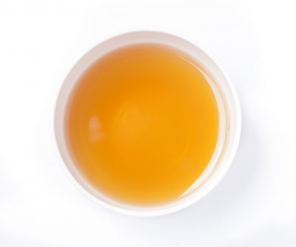 China Lychee OP Tea in a cup