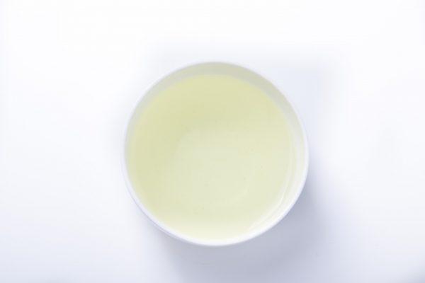 Japanese Premium Gyokuro Hiki Tea in a cup