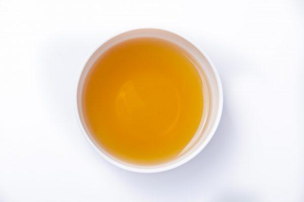 Formosa Dark Pearl Oolong Tea in a cup