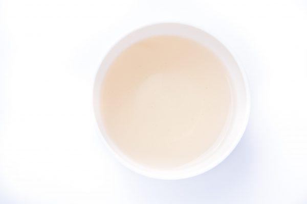 Sencha Berry Beauty Tea in a cup