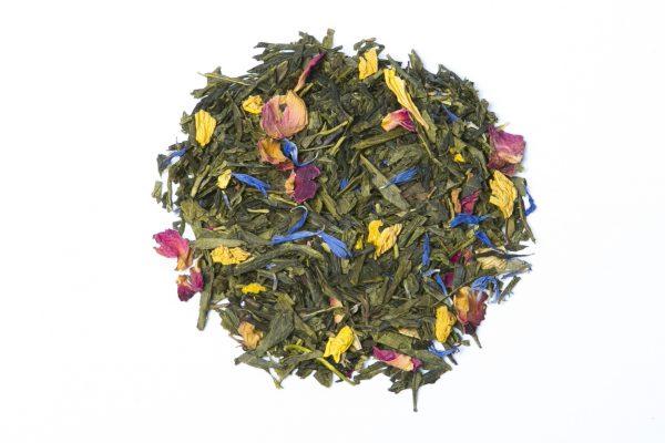 Sencha with Mango and Rose Petals Tea