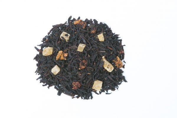 Black Tea Blend - Strawberries & Cream