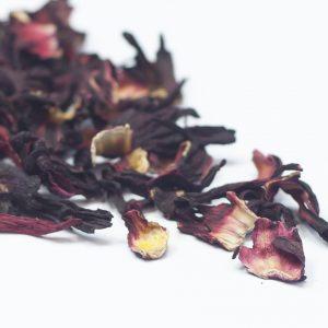 Whole Hibiscus Blossoms Premium Tea