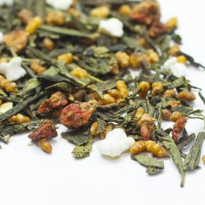 Genmaicha & Strawberries Green Tea