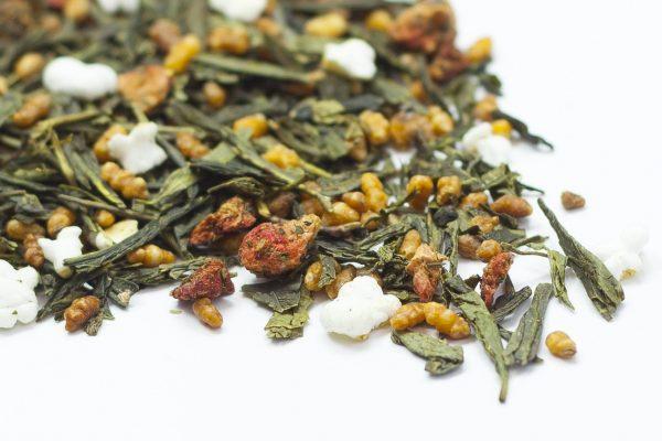 Genmaicha & Strawberries Green Tea