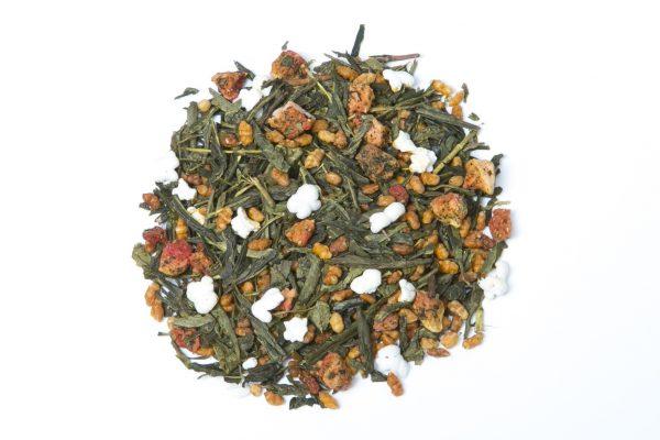 Genmaicha & Strawberries Tea