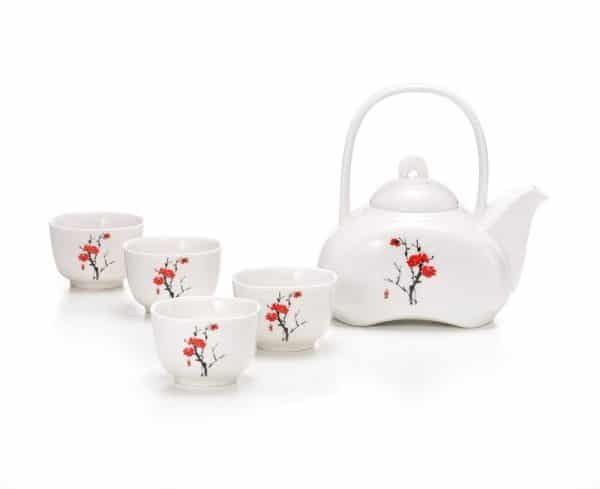 Minuro Five Piece Tea Set