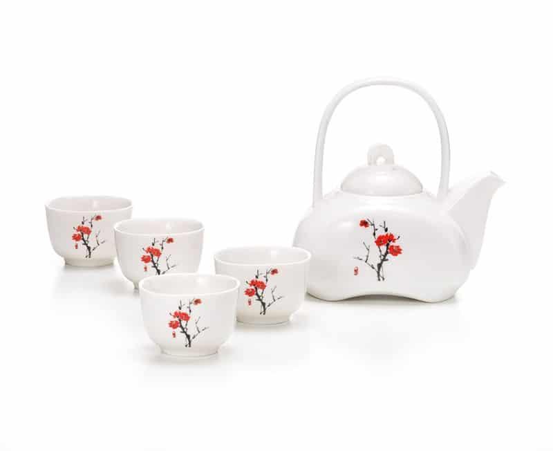 Minuro Five Piece Tea Set