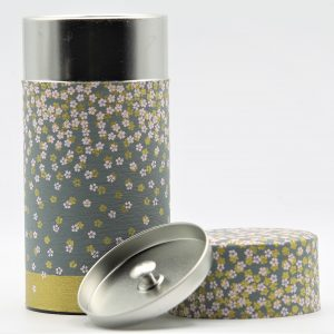 Japanese Floral Tea Tin