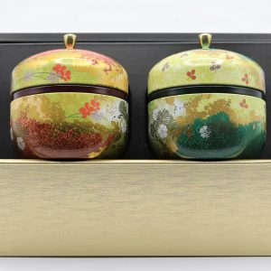 Japanese Floral Tin Haruki