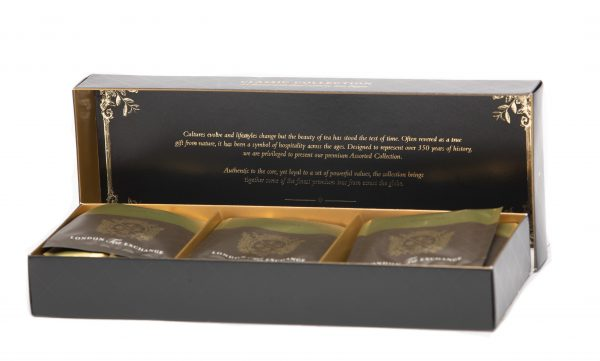 Black Tea Assorted Collection Open