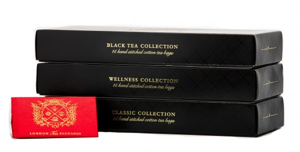 Black Tea Assorted Collection Stacked