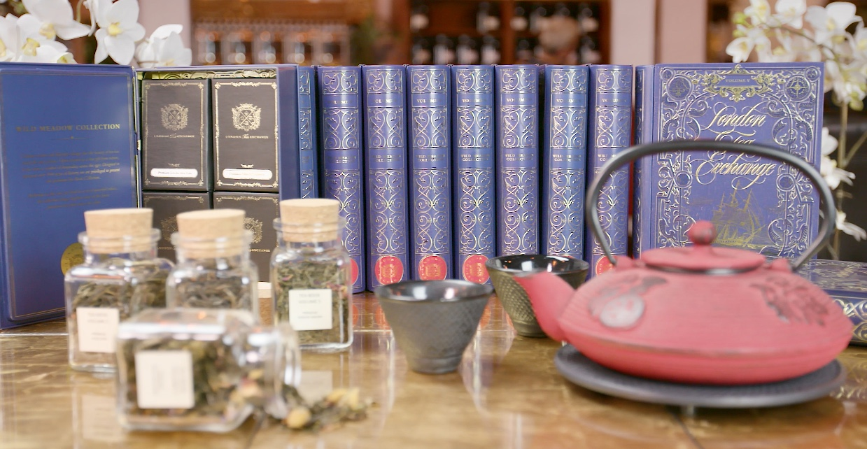 Tea Book Volume V Wild Meadow Collection