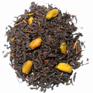Black Tea Blend Pistachio Truffle